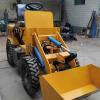 微型电动装载机 多功能小型电动铲车 四驱电动装载机
