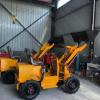 小型电动装载机养殖场多功能四驱电动铲粪车小型电动铲车厂家