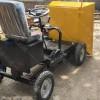 电动四轮水泥砂浆运输车农用电动灰斗轻便式四轮座驾式电动翻斗车